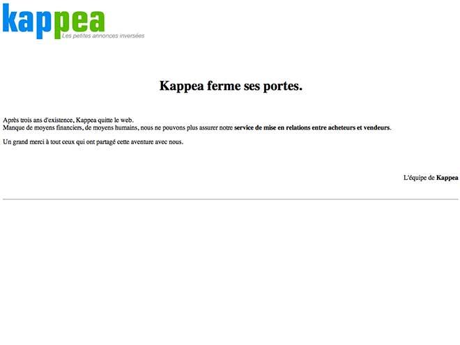 Passez une petite annonce avec Kappea...