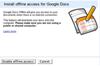 Google Docs est disponible hors ligne...