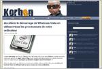 Korben vous file une astuce pour que Vista tienne compte de tous vos processeurs à son démarrage...