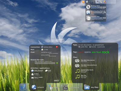 10 bureaux linux vraiment magnifiques - Environnement bureau linux ...