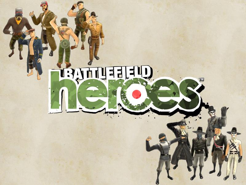 Battlefield Heroes : deux camps, une guerre...