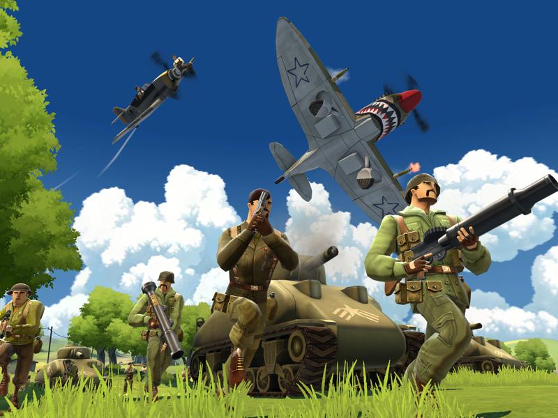 Battlefield Heroes : et du combat terrestre