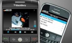Deezer arrive sur les BlackBerry