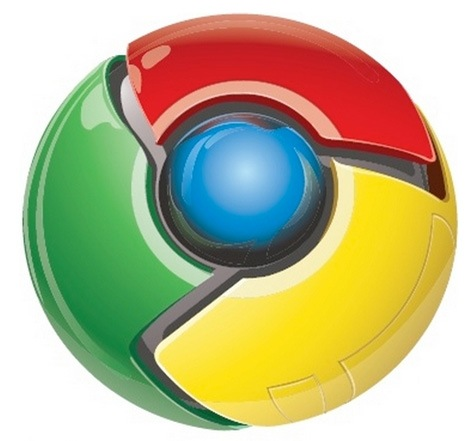 Google Chrome, le logo officiel...