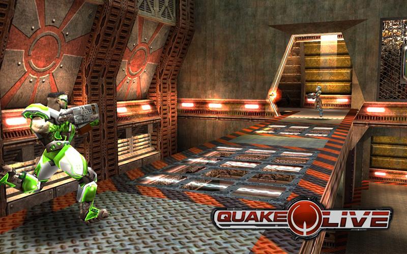 Quake Live : une première capture du jeu
