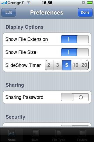 FileAid : le paramétrage du logiciel