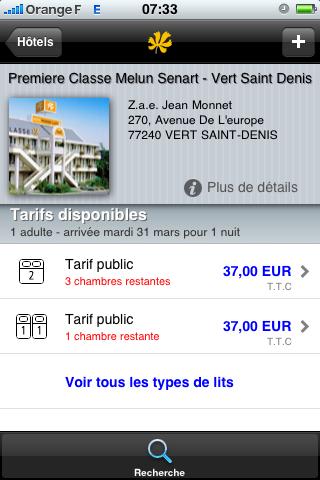 HotelForYou: la fiche d'un hôtel