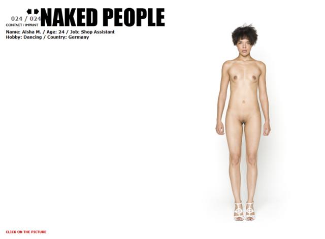 Naked People : le même modèle à poil !