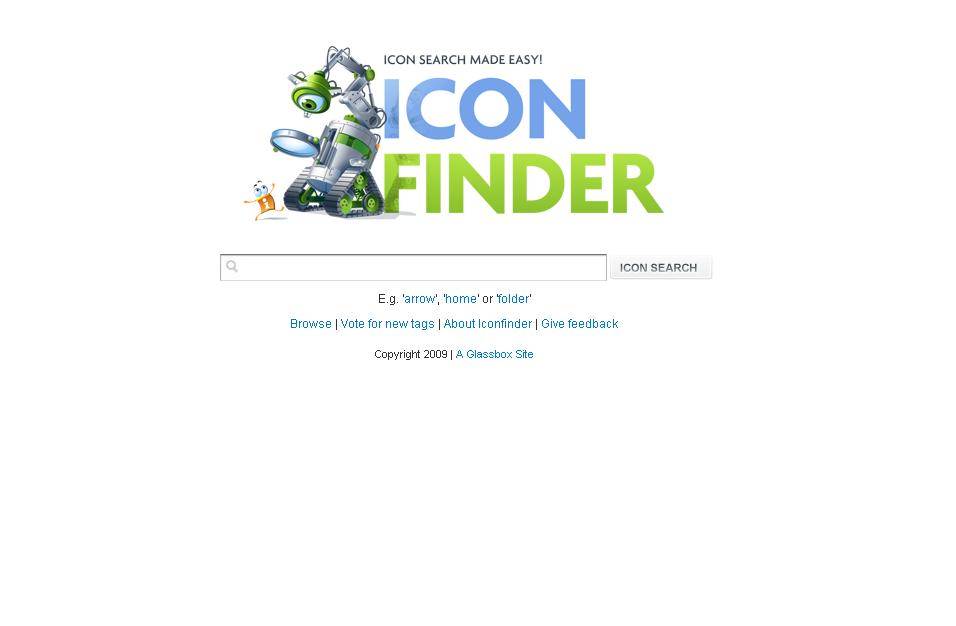 Icon Finder : le moteur de recherche
