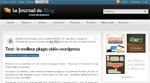 Le Journal du Blog : comparatif de plugins vidéo