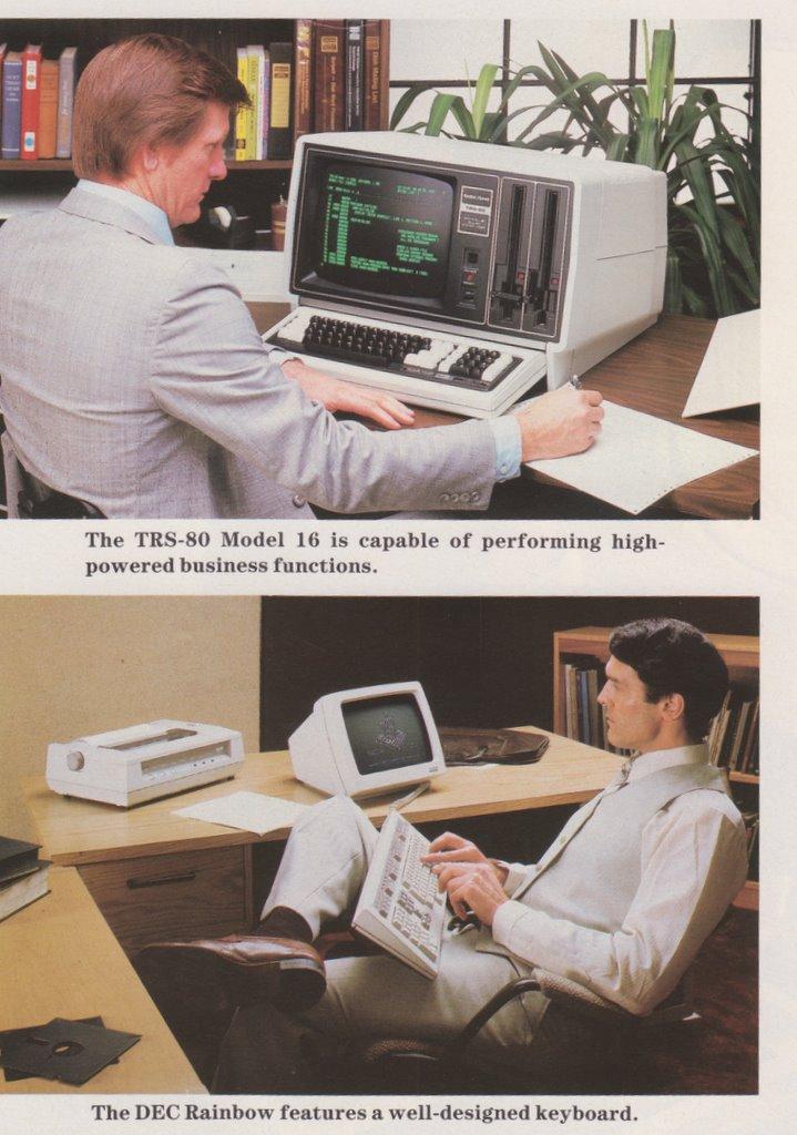 Une publicité pour un ordinateur pas comme les autres
