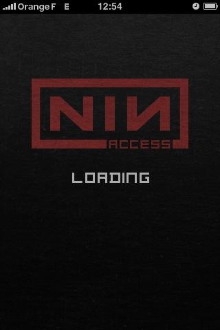 NIN:access, la page d'accueil