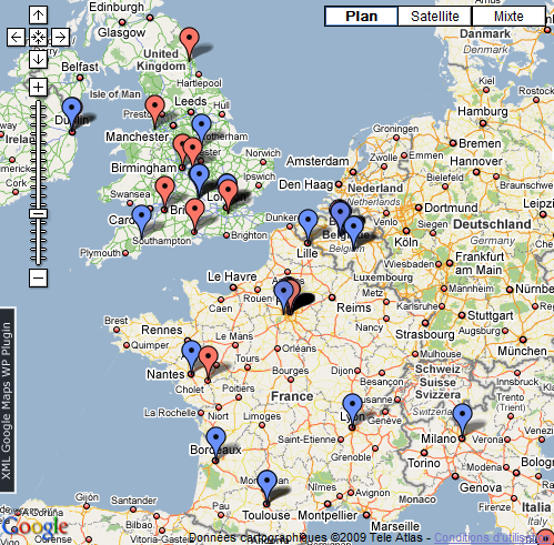 AMHA : La Geek Map