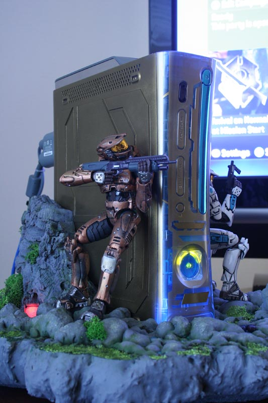 Xbox 360 : un mod Halo 3