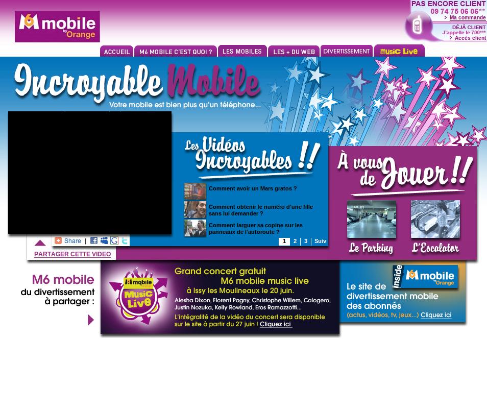 Incroyable Mobile, quand M6 Mobile fait dans le marketing viral