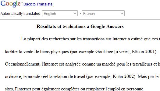 Google Documents intègre la traduction