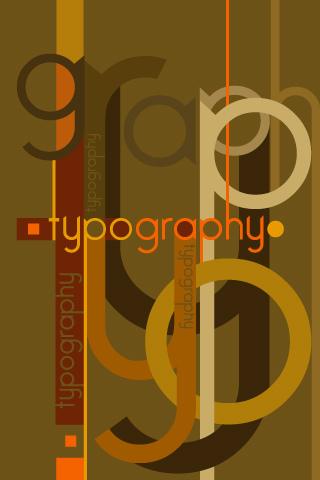 Un peu de typographie