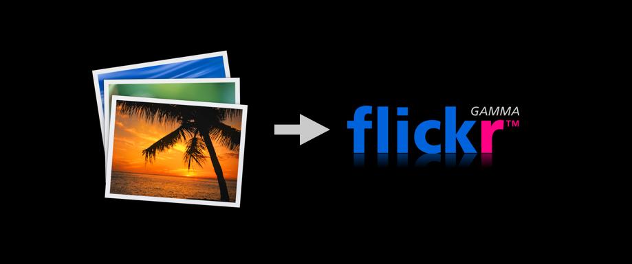 FFXporter : envoyer des photos de iPhoto à Flickr