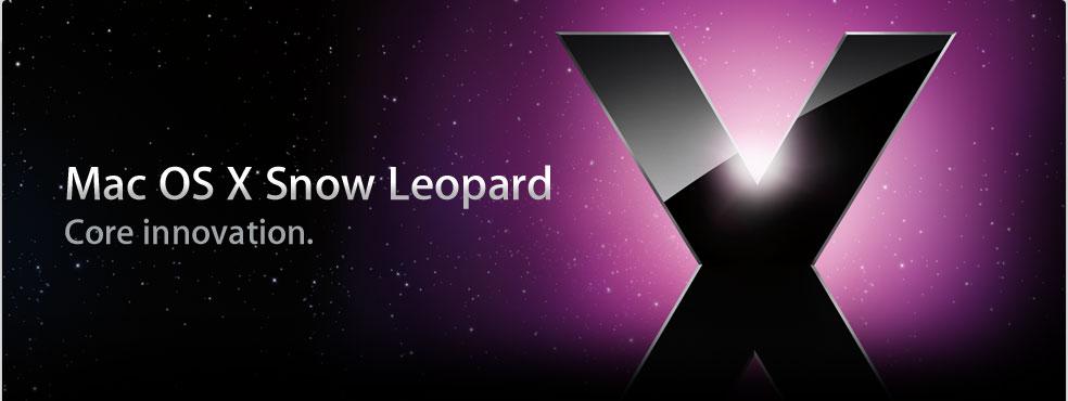 Mac Os Snow Leopard : liste des applications incompatibles