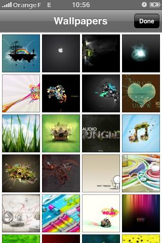 DropBox, l'affichage des photos en miniatures