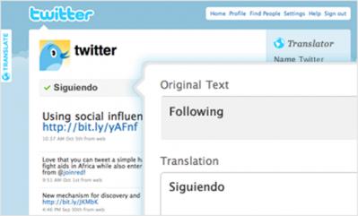 Twitter bientôt en français !
