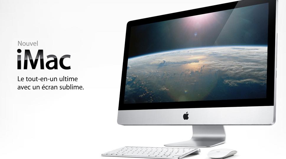 Apple présente son nouvel iMac, son nouveau MacBook et sa Magic Mouse