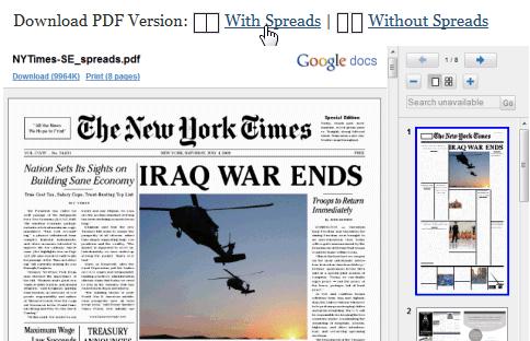 Utiliser la visionneuse de Google Docs pour lire les PDF en ligne