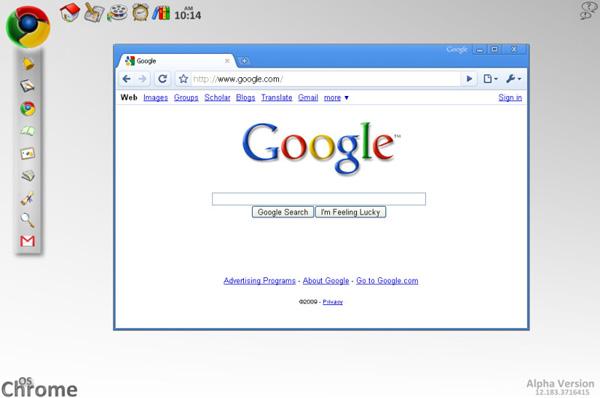 Google Chrome OS sera présenté demain