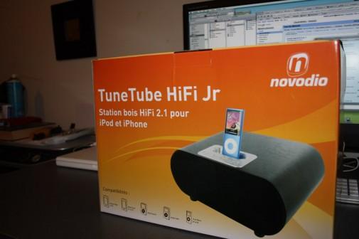 Novodio TuneTube HiFi Jr : la boiboite