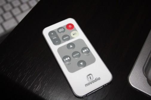 Novodio TuneTube HiFi Jr : la télécommande