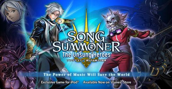 Song Summoner The Unsung Heroes, un RPG Square Enix sur l'iPhone et l'iPod Touch