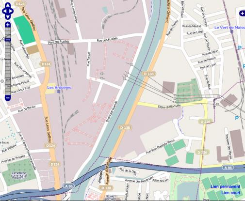 OpenStreetMap, une vue rapprochée