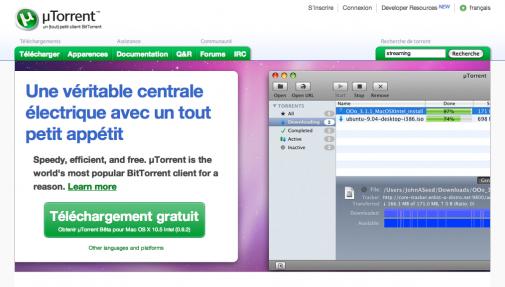 uTorrent 2.0 intègre le streaming vidéo