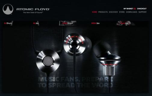 [Test Matos] Les écouteurs HiDefDrum AcousticSteel d'Atomic Floyd
