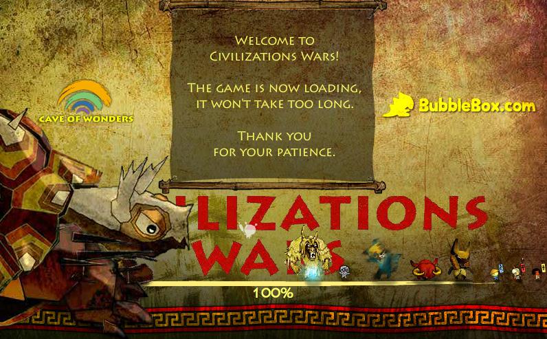 Civilizations Wars, assurez la suprématie de votre civilisation