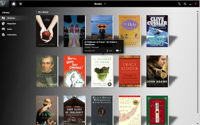 CES : Blio, une application d'ebooks interactifs