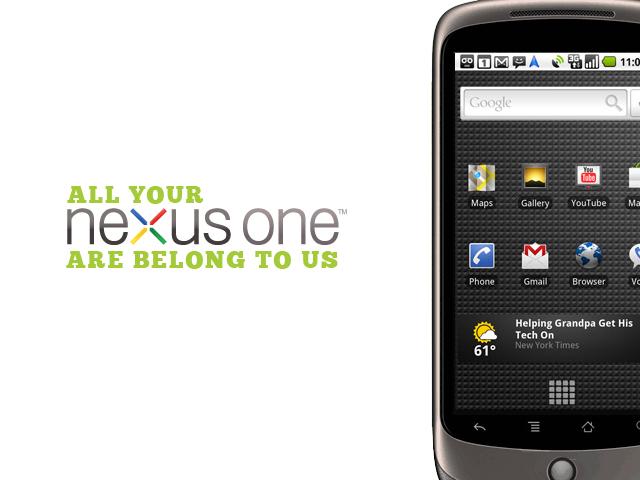 Le Nexus One en exclusivité chez SFR