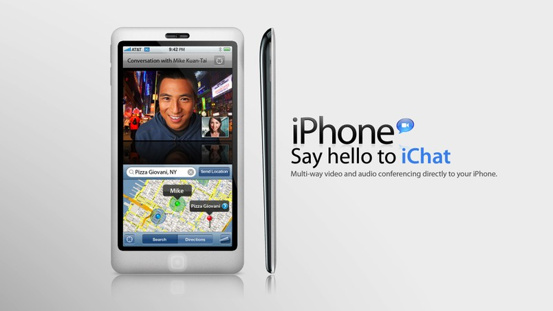 iPhone 4G, un premier mock-up