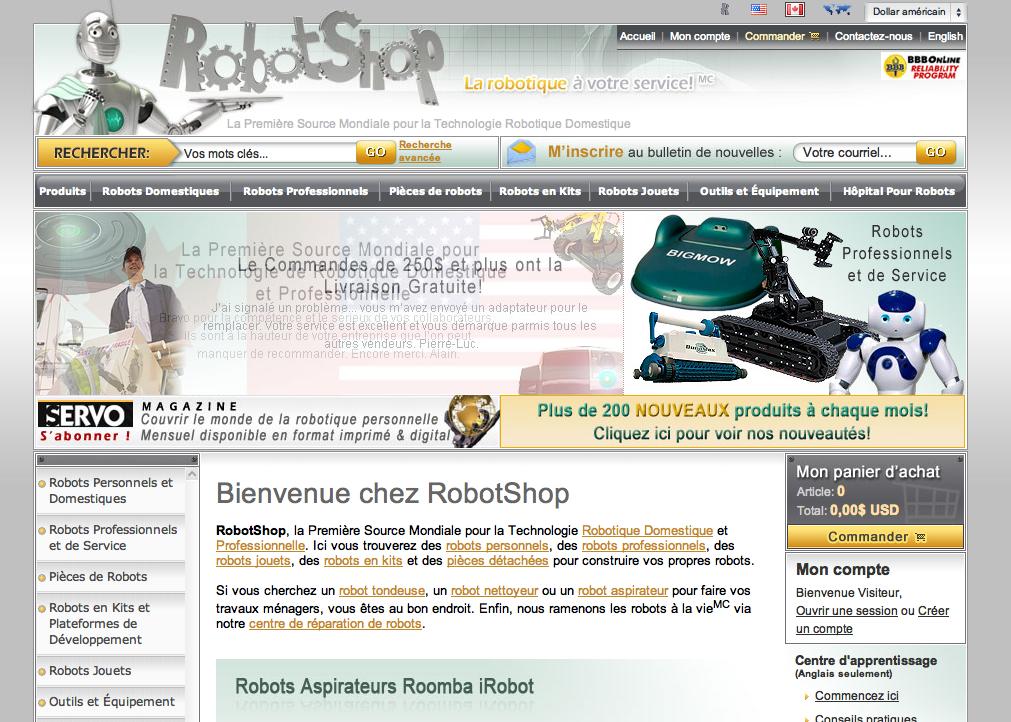 RobotShop se met au web 2.0 avec Vincent Abry