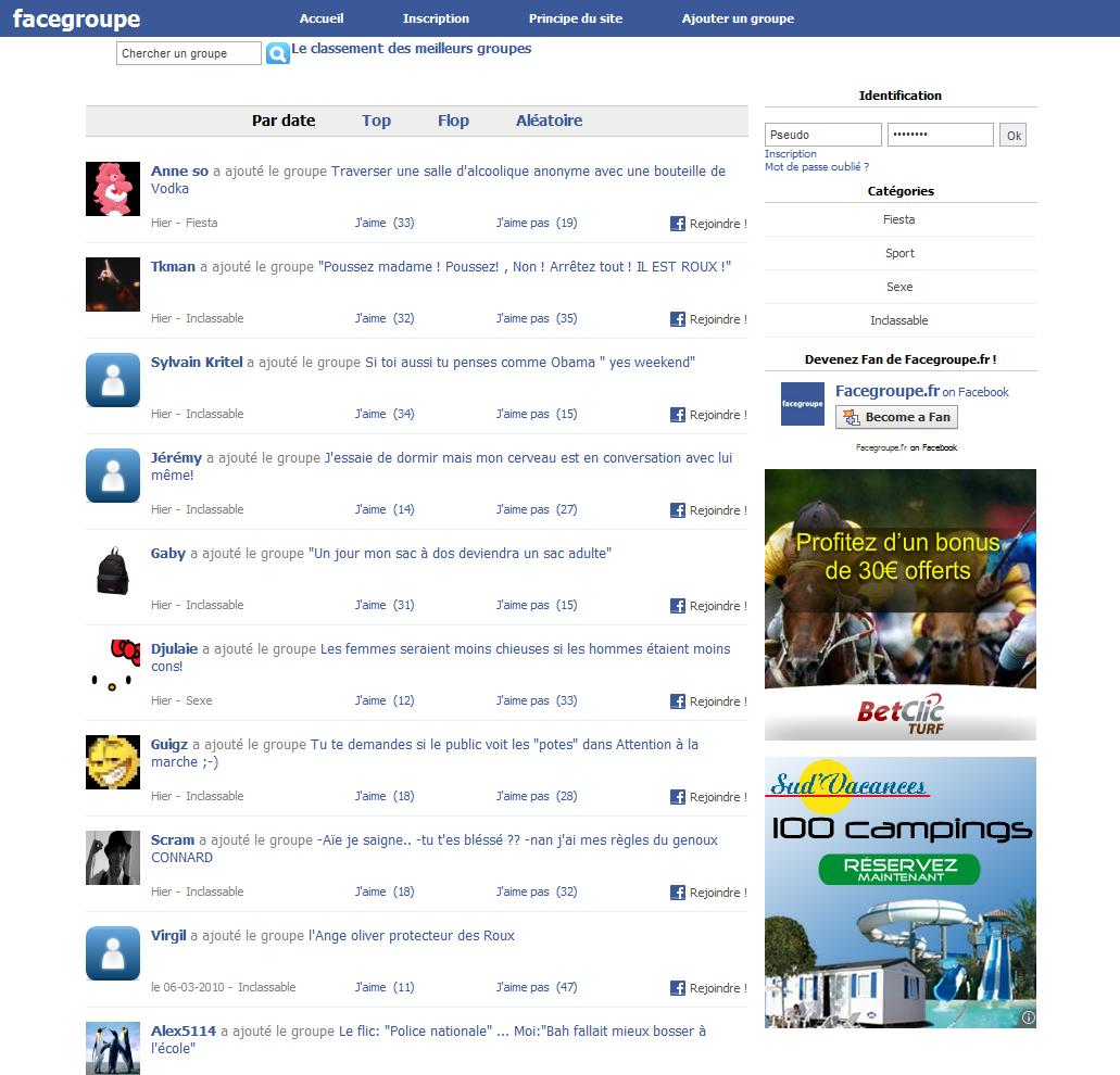 Facegroupe : les groupes les plus délirants de Facebook