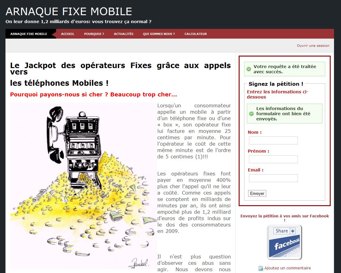 Les opérateurs abusent : les appels de fixe à mobile sont beaucoup trop chers !