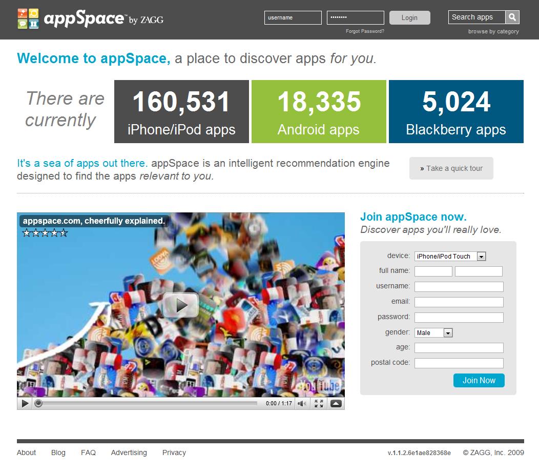 AppSpace, découvrez de nouvelles applications pour votre téléphone