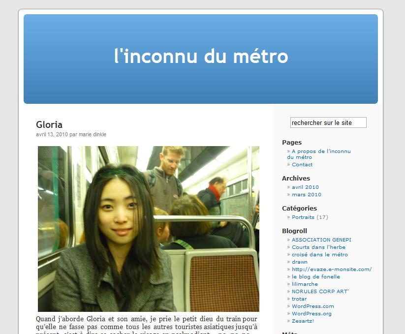 L'inconnu du métro : l'étranger, c'est nous