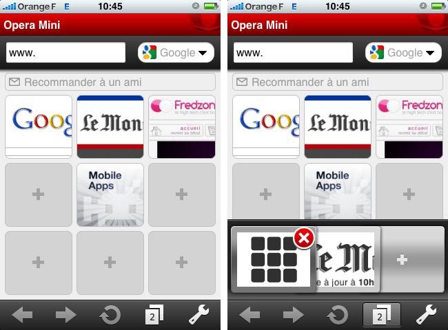 Opera Mini débarque sur l'iPhone