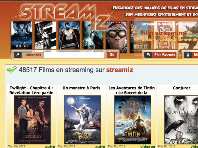 10 sites de streaming qui ne fonctionnent pas avec Megavideo