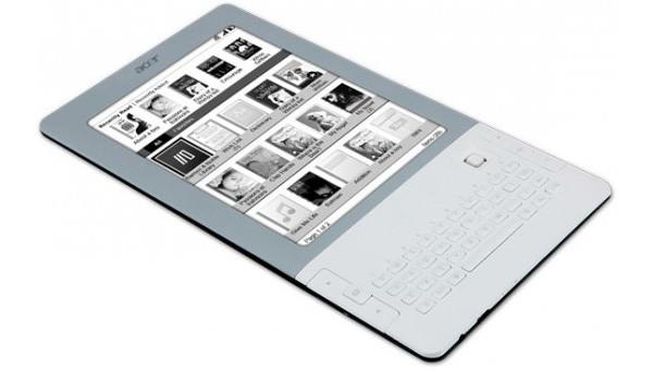 Acer : un lecteur d'ebooks