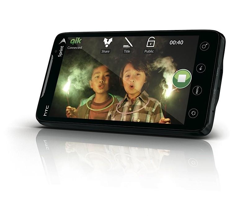 Découvrez le HTC EVO 4G en vidéo