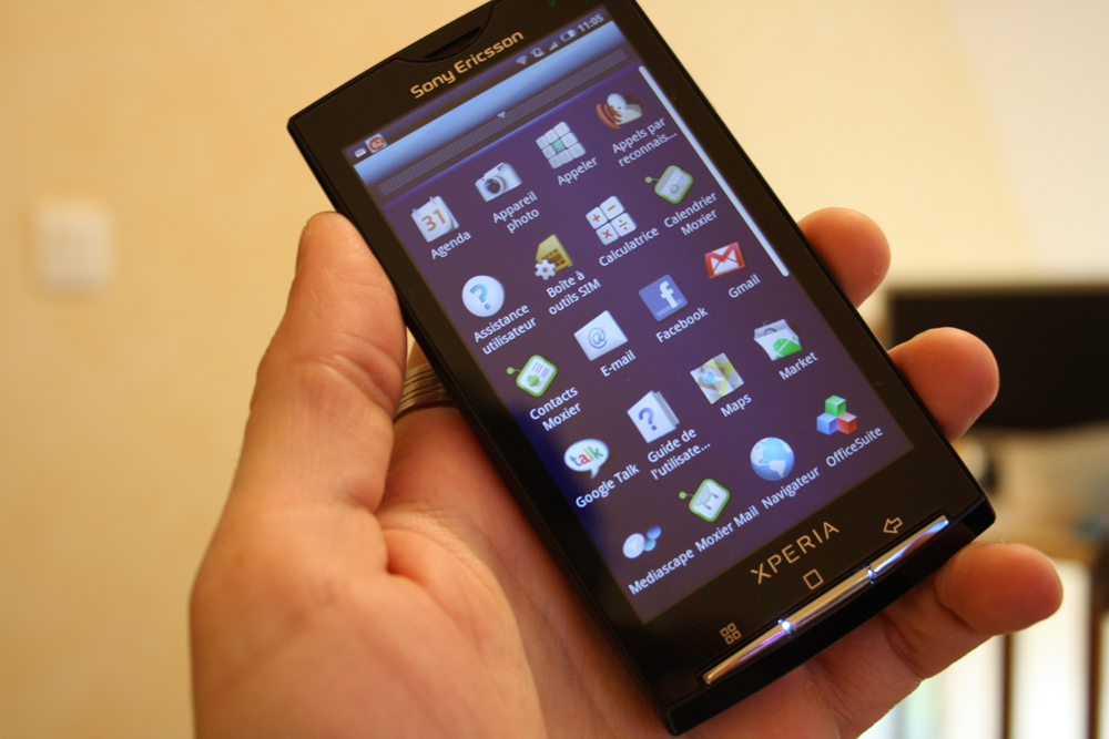 Sony-Ericsson XPERIA X10 : le test complet