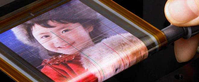 Vidéo : un écran OLED flexible chez Sony !