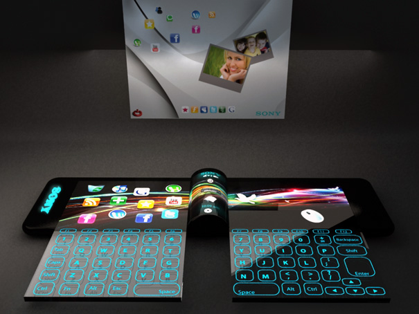 Sony Nextep Computer : un concept d'ordinateur sous forme de bracelet
